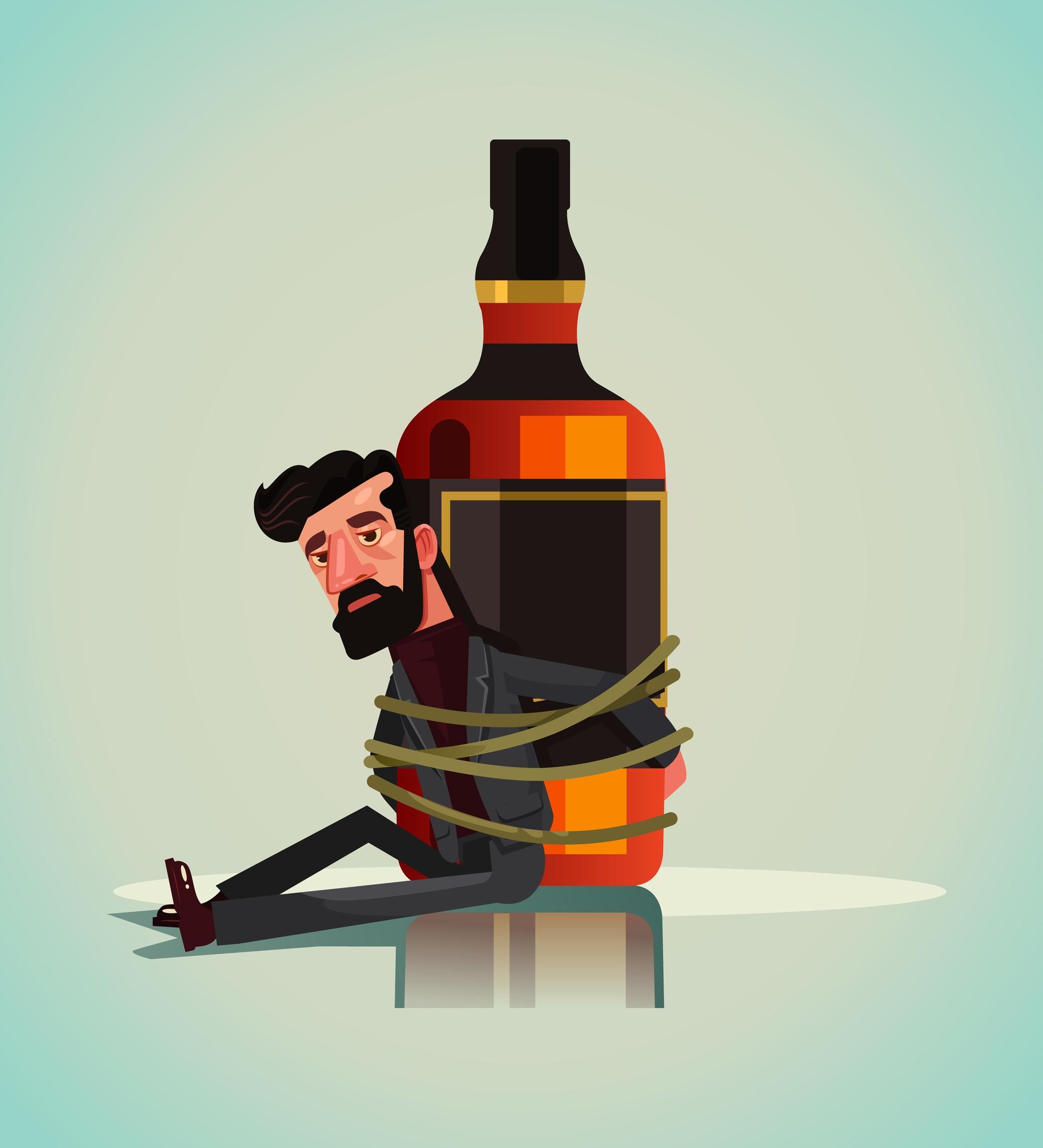 Alkoholizm, jak umieć się do niego przyznać?